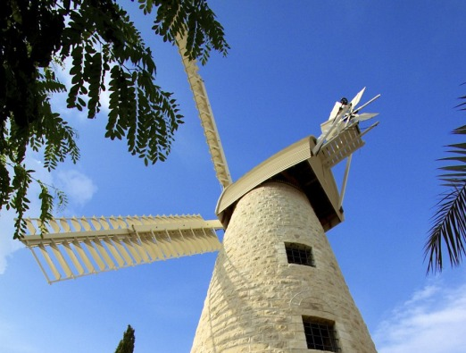 Jerusalem Windmill - 1