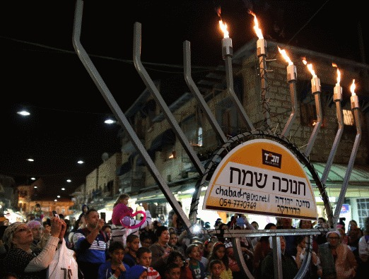 Chanukah in Jerusalem - 2