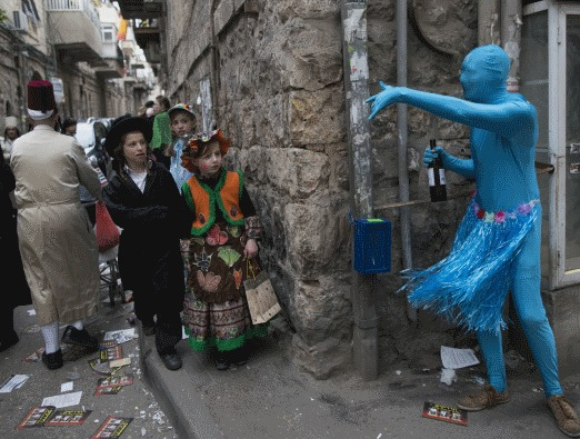 Purim in Jerusalem - 4