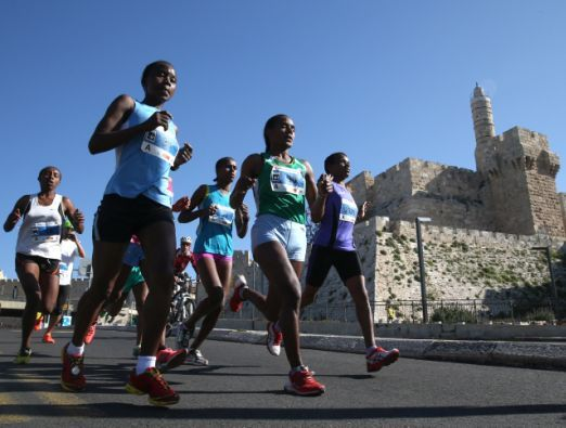The Jerusalem Marathon - 1