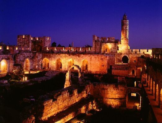 Tikkun Leil Shavuot at the Tower of David Museum - 1