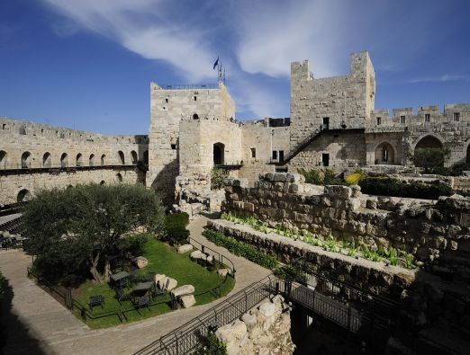 July and August at the Tower of David - 3