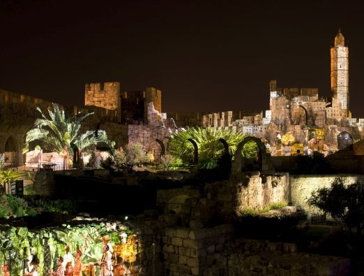 July and August at the Tower of David - 5