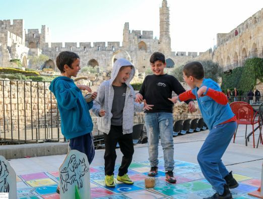 Passover at the Tower of David Museum - 1