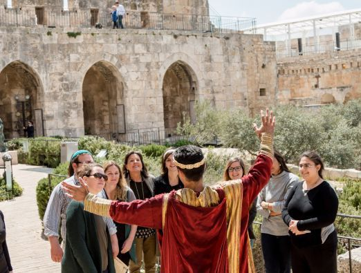 Jerusalem Day at the Tower of David Museum - 3