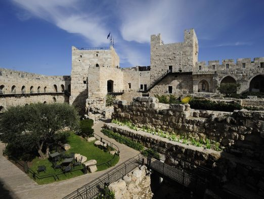 From Herod's palace to British Prison - 1
