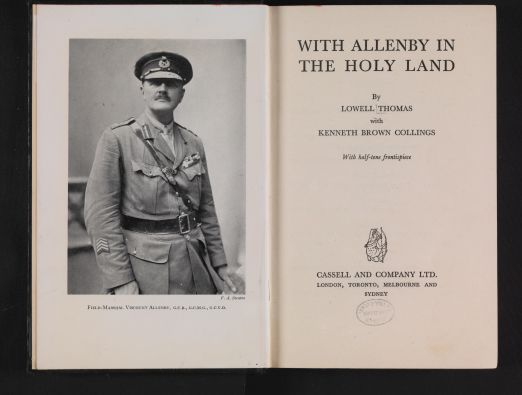 Where Balfour Meets Allenby - 1