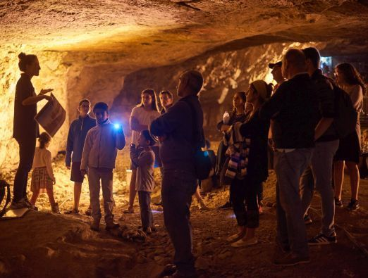 Hannukah in the Mysterious Cave of Jerusalem - 1