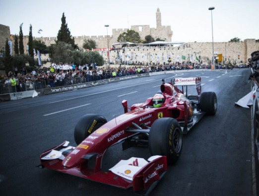 Formula One Race Jerusalem - 3