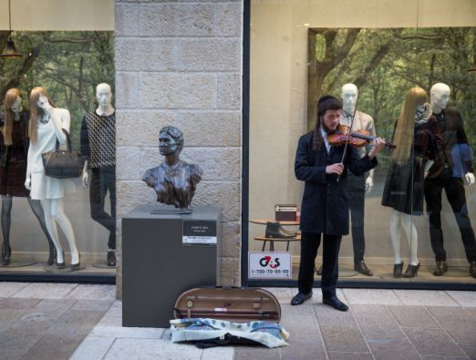 Sculpture Exhibit in Mamilla - 1